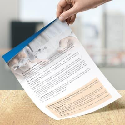 impression document