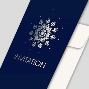 INVITATION AVEC DORURE