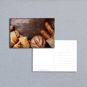 Cartes postales publicitaire