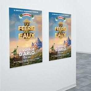 Poster adhésif