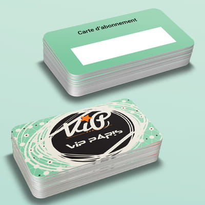 Cartes en plastique ou cartes en PVC 1 COPY-TOP