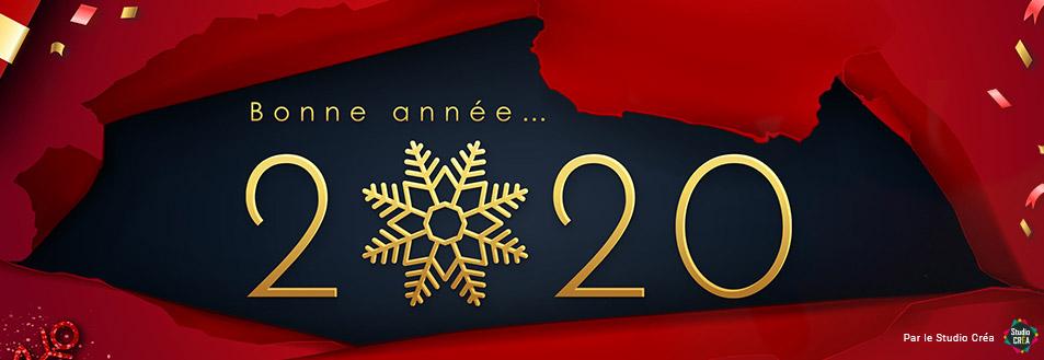 L'équipe COPY-TOP vous souhaite une bonne année 2020 !