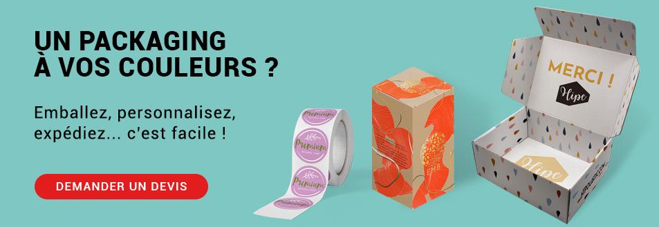 Votre packaging à personnaliser