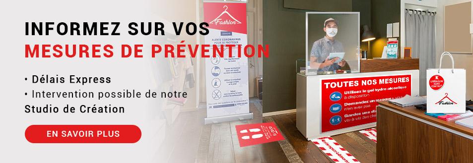 Communiquez sur vos mesures de prévention