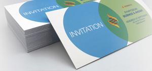 Invitation épaisse