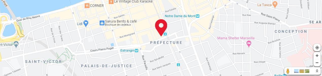 Localisation de votre imprimeur COPY-TOP Préfecture