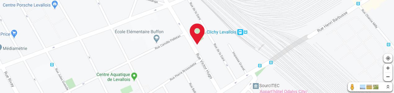 Localisation de votre imprimeur COPY-TOP Levallois-Perret