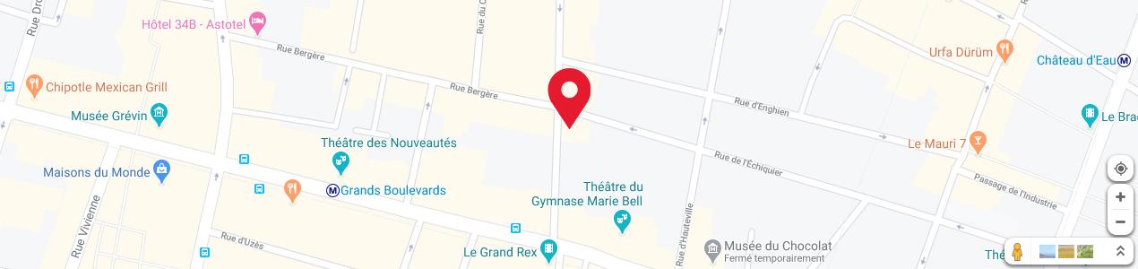 Localisation de votre imprimeur COPY-TOP Bonne-Nouvelle