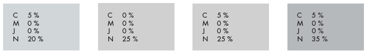 Les codes CMJN pour des impressions Argent