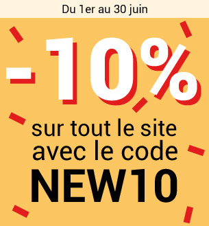 -10% sur tout le site